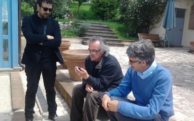 Con Pasquale Minieri e Tommaso Vittorini