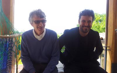 con Tommaso Vittorini